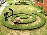 EVEREDGE - Flexible Steel Garden Edging - 5'' - 5 SECTIONS