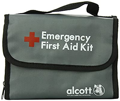 Alcott Explorer 40-Piece First Aid Kit for Pets and People, Travel Size by Alcott