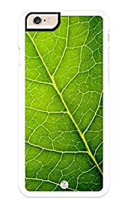 iZERCASE iPhone 6 PLUS Case Green Leaf Pattern RUBBER CASE - Fits iPhone 6 PLUS T-Mobile, Verizon, AT&T, Sprint and International