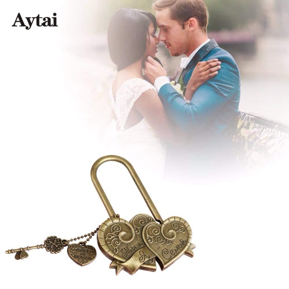 Amazon com: Zereff Aytai Wedding Lock Family Unity Ceremony