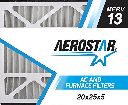 Aerostar 20x25x5 MERV Pleated Filter