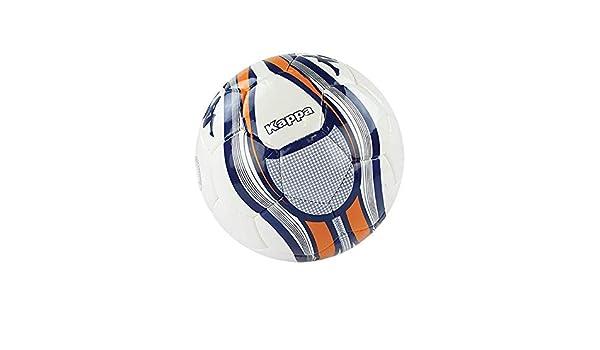 Kappa Milano Balón de fútbol, Unisex niños, Blanco/Naranja, T05 ...