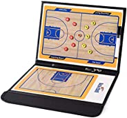 OUYAWEI Professional Double-Sided Basketball Coaching Board Coaches Clipboard Tactical Kit