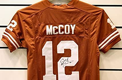 Colt McCoy Autographed Texas Longhorns Jersey at Amazon s Sports ... faa69c0f6