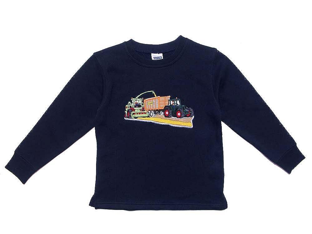 Zintgraf Sweatshirt Stickerei Traktor Maish/äcksler Ladewagen #J47
