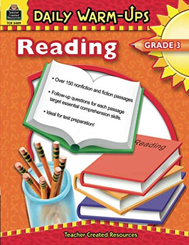 Daily Warm-Ups: Reading, Grade 3: Reading, Grade 3 ()