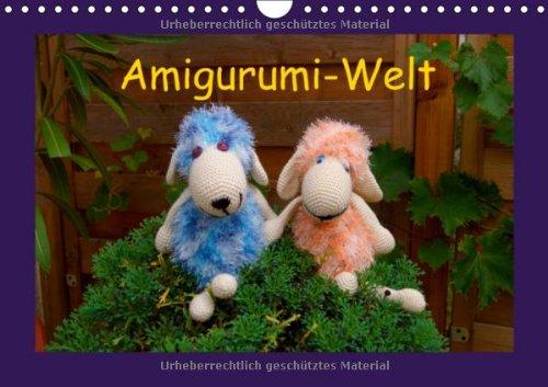 Amigurumi-Welt (Wandkalender 2014 DIN A4 quer): Häkel und Stricktiere (Monatskalender, 14 Seiten)