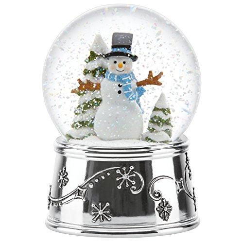 Reed & Barton Snowflurries Snowman Small Snowglobe Reed & Barton Snowman