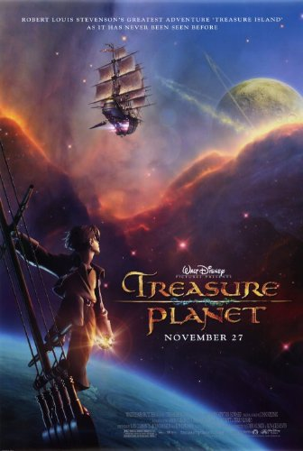 27 x 40 Treasure Planet Movie Poster