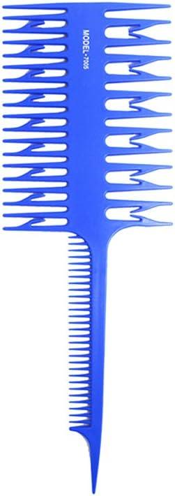 Tinte para el cabello de color peine peluquerías duales Lados ...
