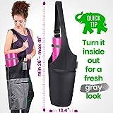 Jambala Large Yoga Mat Bag Carrier and Socks