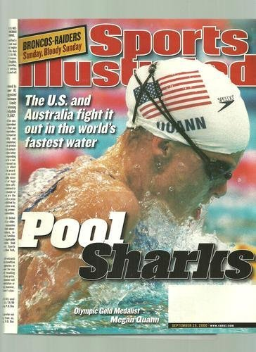 2000 Sports Illustrated Magazine - Sports Illustrated September 25 2000 Megan Quann Olympic Gold Medalist