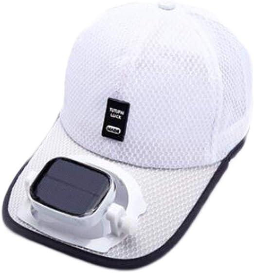 GG- fan cap Enfriamiento del Ventilador Sombrero de Beisbol Carga ...