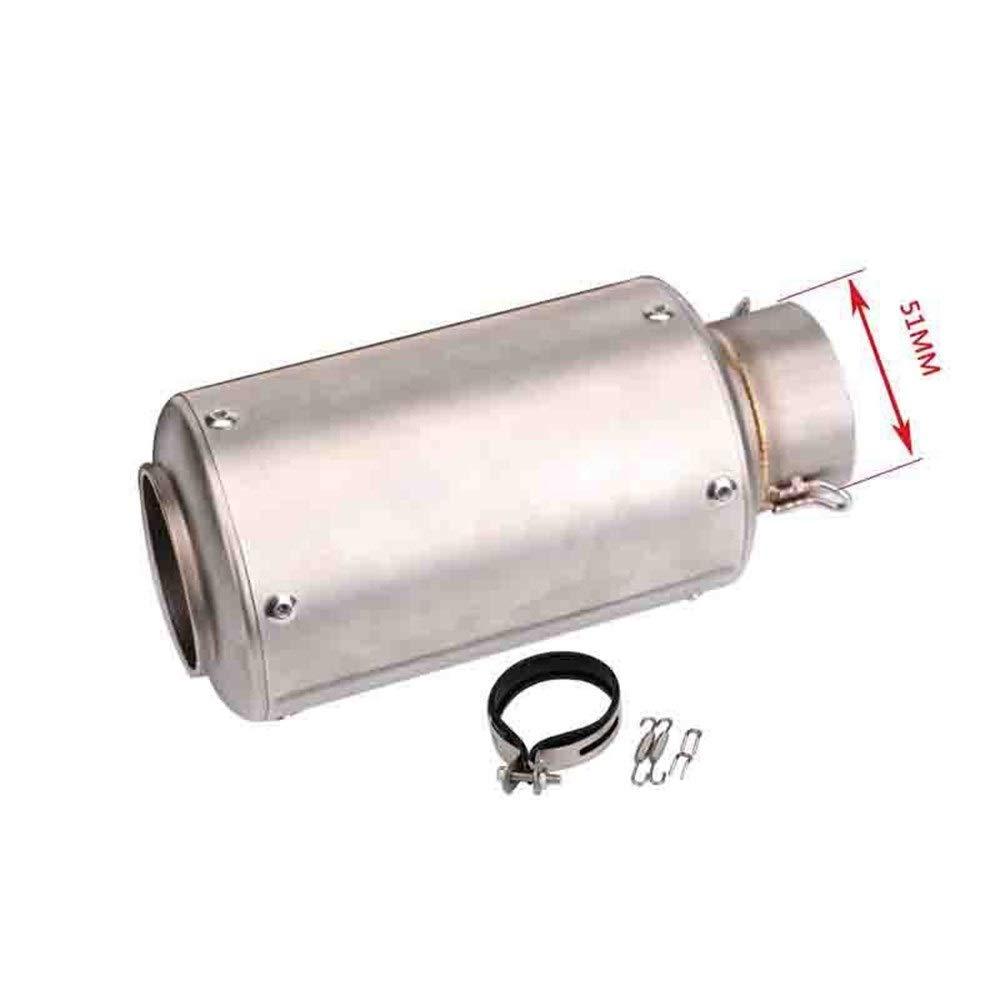 Silenciador modificado para motocicleta SC tubo de escape ...