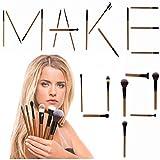 iLuminate 22pc Makeup Brushes Set, Premium Professional Makeup Brushes, Eye Makeup Brushes and Face Makeup Brushes, Rose Gold, Brushes Only, Perfect Makeup Present Set