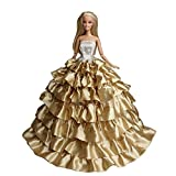 Wedding Gown For 11'' Dolls Lace Gown Doll Clothing Handmade Sweet
