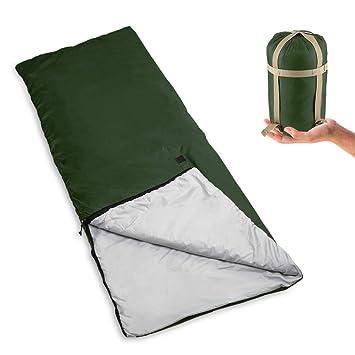 Bessport Saco de Dormir Ultra Ligero de Forma de sobre para ...