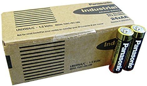 40 x  Panasonic Panasonic Industrial Powerline AA Batterie Alkali LR6 1.5V