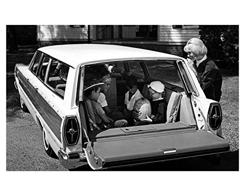 1965 Ford Woodie Station Wagon Photo Poster - 1965 Ford Station Wagon