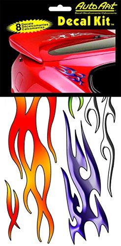 Chroma Graphics 5305 Flames Decal Kit, 6