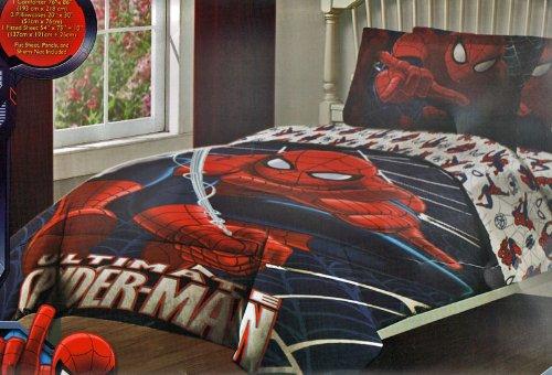 ... Spiderman 4PC Full Size Bedding Set ...