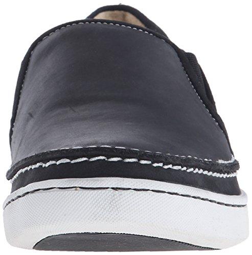 Sebago Mens Ryde Slip-On Loafer Black Leather