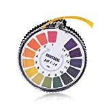 ANZESER pH Indicator Litmus Test Paper Strip Roll, 1 - 14 For Water Urine And Saliva - 5 Meters