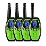 YZGE Walkie Talkies for Kids Two Way Radios Long Range 3km-5km Handheld Walkie