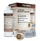 Keurig 3-Month Brewer Maintenance Kit Includes