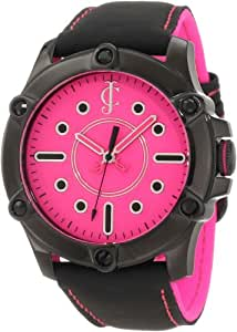 """Juicy Couture Women's 1900934 """"Surfside"""" Black Leather Strap Casual Watch"""