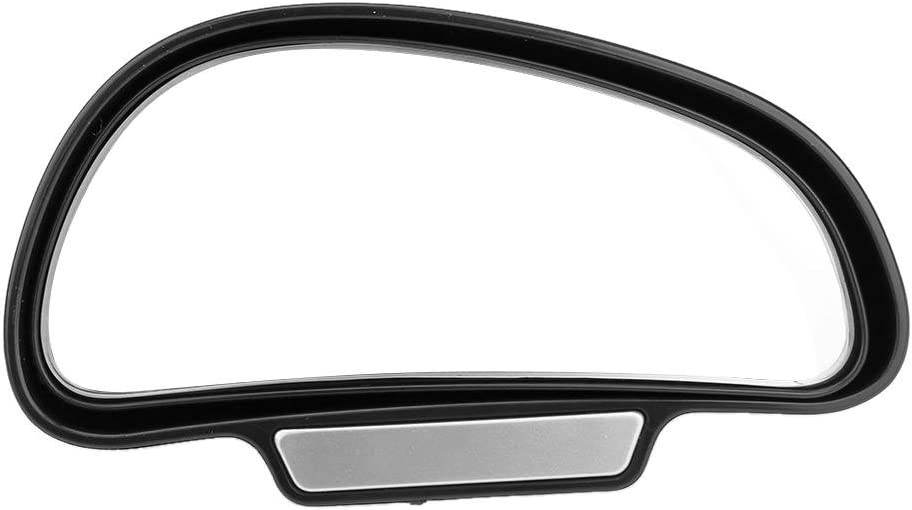 Adjustable Car Auto Rearview Auxiliary Mirror Blind Spot Mirror Black L
