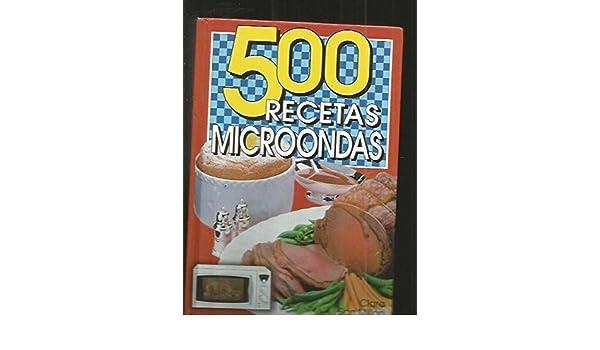500 recetas microondas: Clara San Millan, GRAFALCO ...
