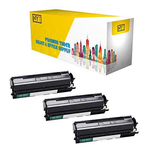 (New York Toner New Compatible 3 Pack UG-5510 High Yield Toner for Panasonic - PanaFax UF 790   DX 800 . -- Black)