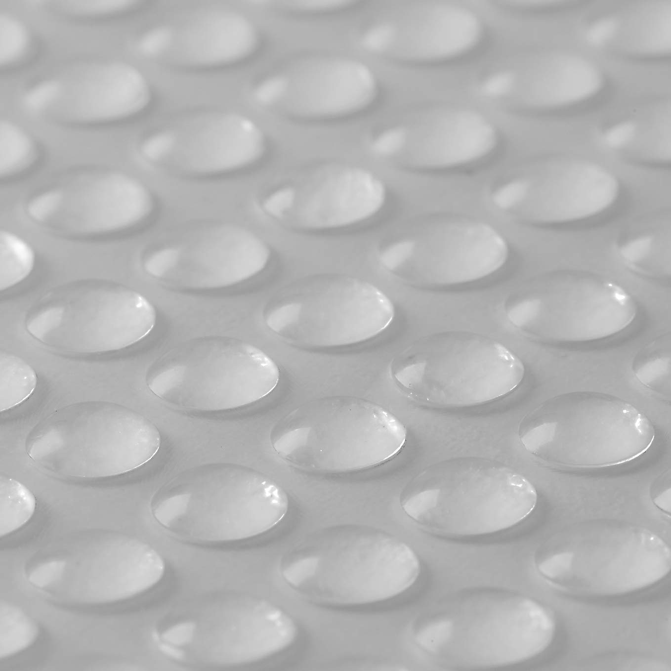 "Ehanmu Self-Adhesive Clear Rubber Feet Tiny Bumpons 0.25"" in Diameter x 0.079"" Height PACK/100pcs (6x2mm 100pcs)"