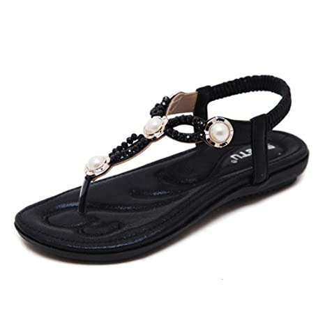 4167a4e39e96 Amazon.com   Women Girls Flat Sandals