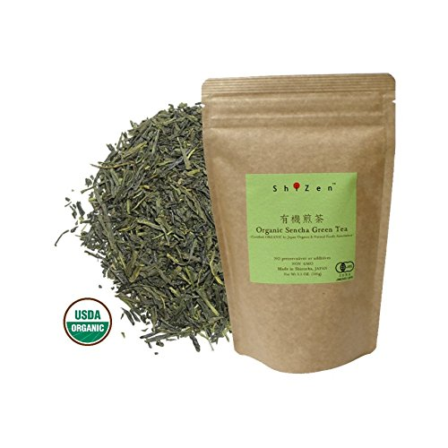 Organic Sencha Green Tea Loose Leaf from Japan - ShiZen Tea