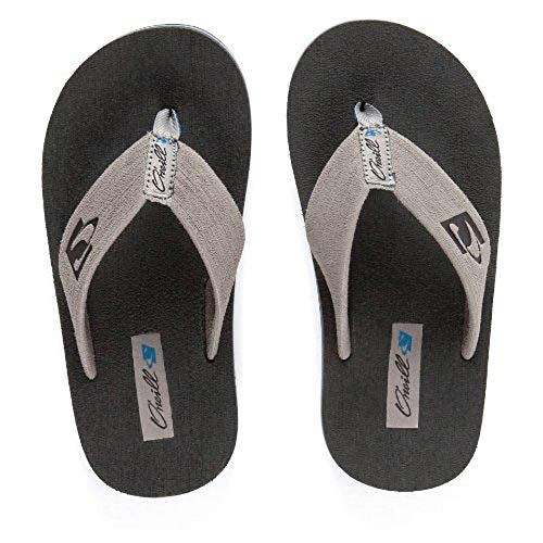 O'Neill Phluff Daddy 2 Sandal (Little Kid/Big Kid),Grey,11/12 M US Little Kid