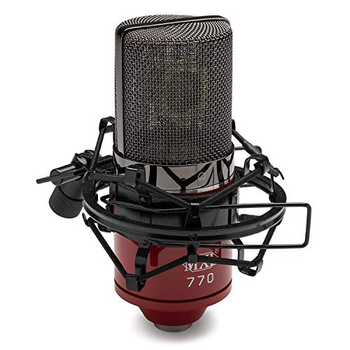 MXL 770 Cardioid Condenser Microphone (Red)