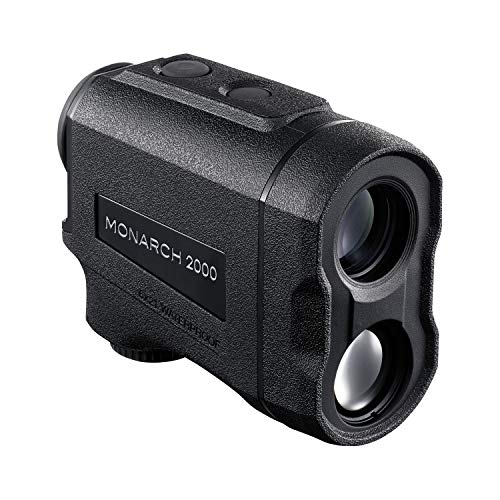 Nikon 16661 Monarch 2000 Laser Rangefinder, 6x21mm, ID, Black