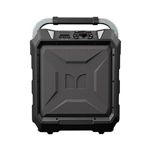 Monster Rockin' Roller 2 | 80 Watts, 100 Hour High Performance Water Resistant Outdoor/Indoor Wireless Bluetooth Speaker, Night