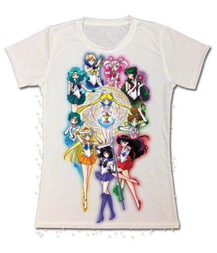 Sailor Moon S: Sailor Scouts Junior Sublimation T-Shirt, -