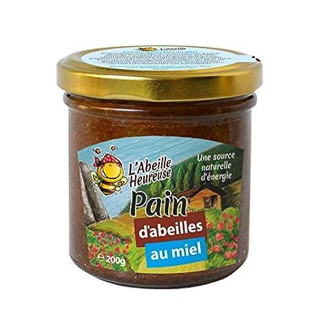 Pan de abejas con miel 200 G: Amazon.es: Salud y cuidado personal
