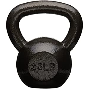 Well-Being-Matters 51eRJS7P3JL._SS300_ Amazon Basics Cast Iron Kettlebell Weight
