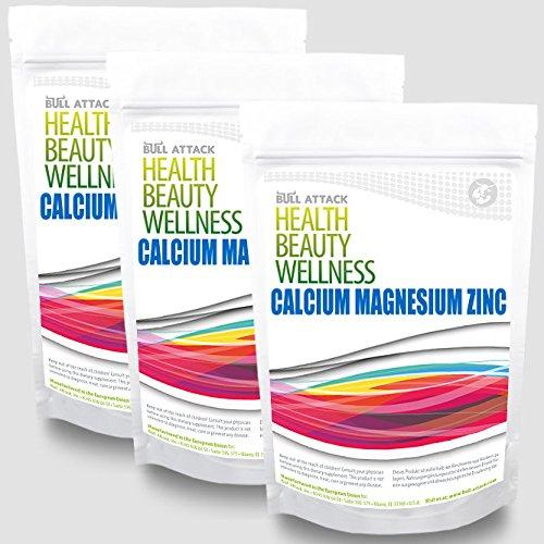 Calcium & Magnesium & Zink (300 Tabletten Hochdosiert) - gegen Müdigkeit, Muskelkrämpfe - Pharmaqualität aus EU-Produktion - nach ISO und GMP-Standard produziert - Preishammer