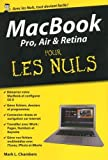 MacBook Pro, Air et Retina pour les Nuls poche