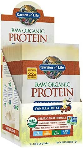 Protein & Meal Replacement: Garden of Life Raw Organic Protein Packets