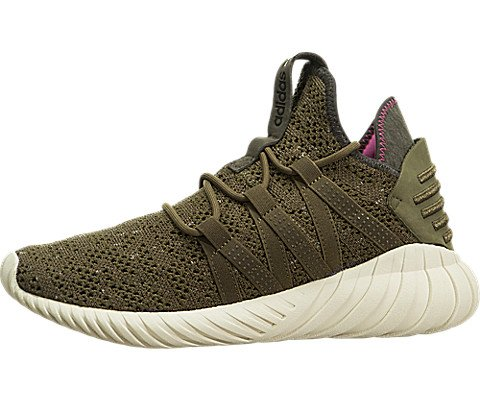 Tubular Dawn Womens in Trace Olive by Adidas, 7.5