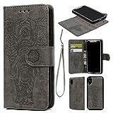 Best Cash Compartments For IPhones - iPhone X Case, iPhone 10 Case Premium PU Review
