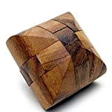 Handmade Wooden Brian Games Bread Puzzle - Wooden Puzzles for Adults, Products From Thailand.