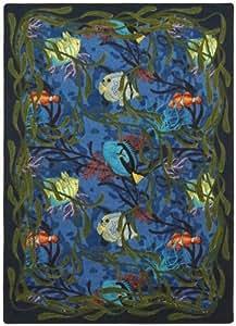 Amazon Com Joy Carpets 1501c Under The Sea 5 Ft 4 In X 7